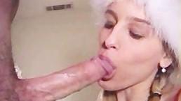 Długi kutas w jej ustach